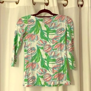 Lily Pulitzer Andre Top in Ring the Bellboy